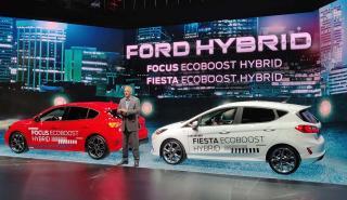 Ford Mondeo, Fiesta, Focus Hybrid