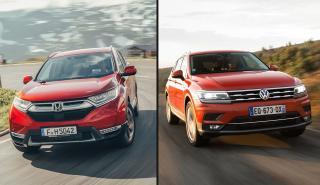 Honda CR-V 2019 vs Volkswagen Tigual Allspace