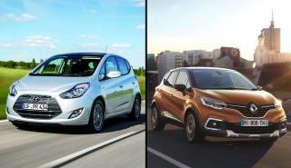 Hyundai ix20 vs Renault Captur