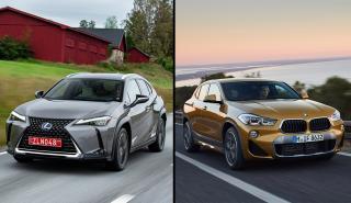 Lexus UX vs BMW X2