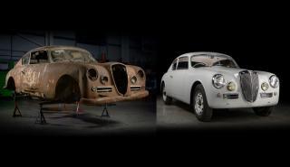 Restauran un Lancia Aurelia B20 GT de 1953 para participar en la Mille Miglia