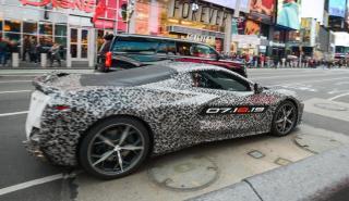 Teaser Chervrolet Corvette C8 2020