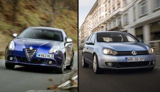 Alfa Romeo Giulietta vs Volkswagen Golf