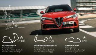 Alfa Romeo Stelvio Quadrifoglio récords