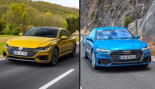 Audi A7 Sportback vs Volkswagen Arteon