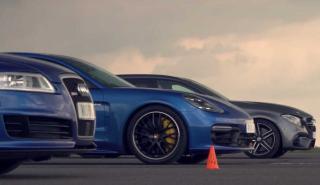 Audi RS 6 C6 vs Mercedes-AMG E63 vs Panamera Turbo S E-Hybrid