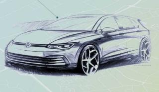 Bocetos Volkswagen Golf 2019