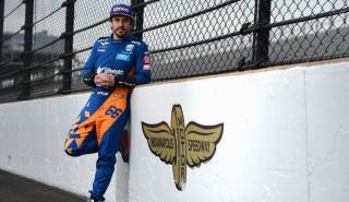 Fernando Alonso en Indianápolis