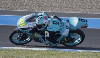 moto3 circuito moto azul