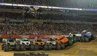 Monster Truck salto