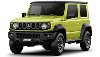 Suzuki Jimny cambios