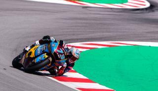 moto2 curva piloto circuito