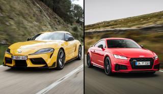 Audi TT vs Toyota Supra 2019