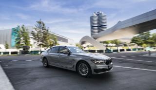 BMW presenta un prototipo del Serie 7 que tiene un nivel 4 de autonomía