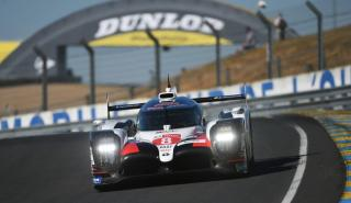 Fernando Alonso en Le Mans