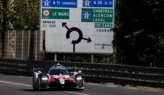 Fernando Alonso en el test de Le Mans