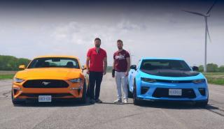 Ford Mustang GT vs Chevrolet Camaro SS