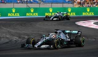 Hamilton en el GP de Francia