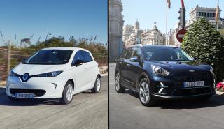 Kia e-Niro vs Renault Zoe