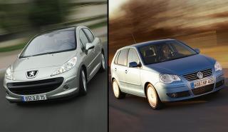 Peugeot 207 vs Volkswagen Polo