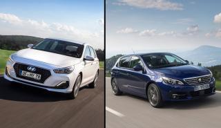 Peugeot 308 vs Hyundai i30