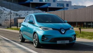 Nuevo Renault Zoe frontal