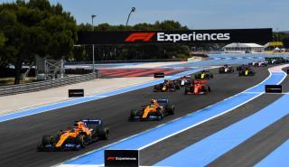 Salida del GP de Francia 2019