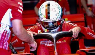 Sebastian Vettel en el GP Francia 2019