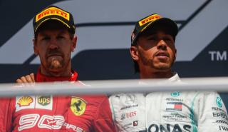 Vettel y Hamilton en Canadá
