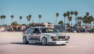 VW Scirocco personalizado es un maravilloso art car prestacional