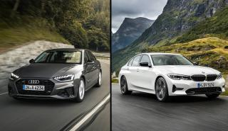 Audi A4 2019 vs BMW Serie 3 2019