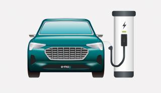 Audi emoji coche eléctrico frontal