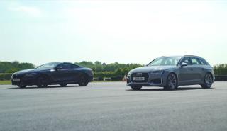 BMW M850i xDrive Coupé vs Audi RS 4 Avant