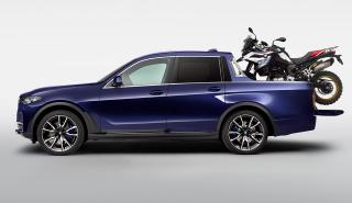 BMW X7 pick up lateral