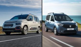 Dacia Dokker vs Citroën Berlingo
