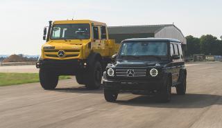 Mercedes Clase G y Unimog