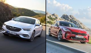 Opel Insignia vs Kia Stinger