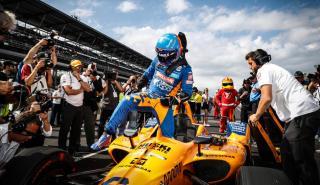 Alonso en Indianapolis