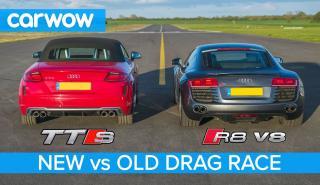 Audi R8 contra TTS