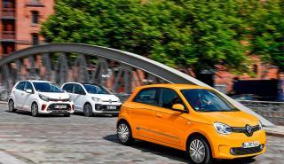 Comparativa: Renault Twingo vs Kia Picanto y Volkswagen Up