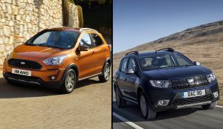 Dacia Sandero Stepway vs Ford Ka+ Active