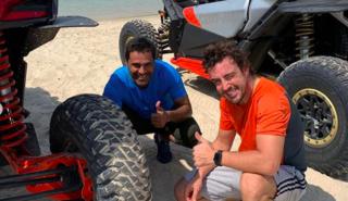Alonso y Al-Attiyah en Qatar