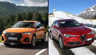 Audi Q3 Sportback vs Alfa Romeo Stelvio