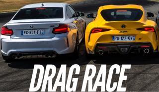 BMW M2 Competition vs Toyota Supra GR