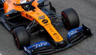 Carlos Sainz abandona en Italia