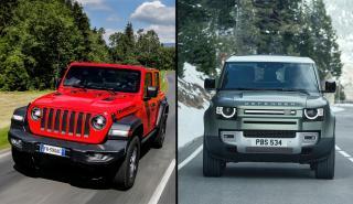 Land Rover Defender vs Jeep Wrangler