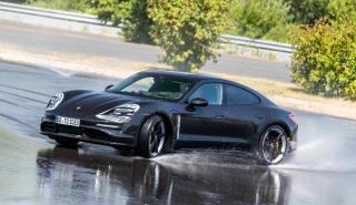 Porsche Taycan - copilotaje