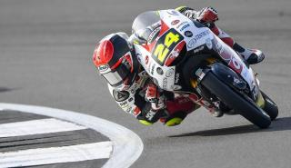 piloto curva circuito motos