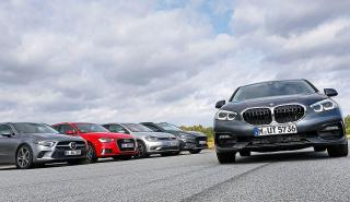 BMW Serie 1 vs Volkswagen Golf, Audi A3, Ford Focus y Mercedes Clase A