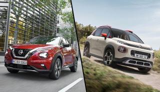 Citroën C3 Aircross vs Nissan Juke